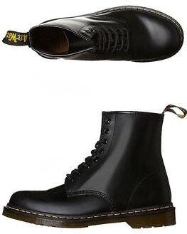 BLACK WOMENS FOOTWEAR DR. MARTENS BOOTS - SS11822006BLKW