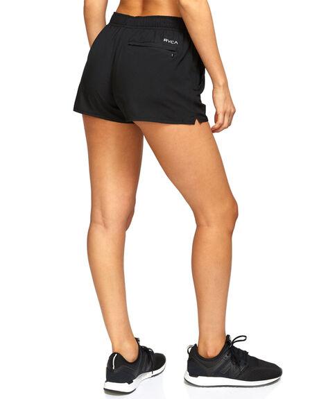 BLACK WOMENS CLOTHING RVCA ACTIVEWEAR - RV-R493313-BLK