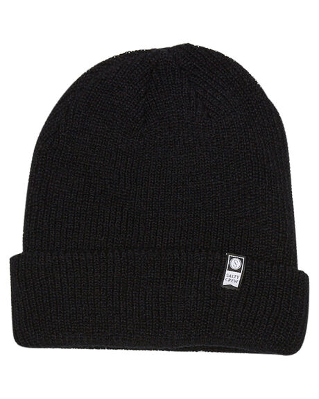 BLACK MENS ACCESSORIES SALTY CREW HEADWEAR - 35035202BLK