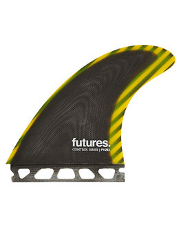 YELLOW SURF HARDWARE FUTURE FINS FINS - PYZ-010209YEL