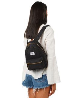 BLACK WOMENS ACCESSORIES HERSCHEL SUPPLY CO BAGS + BACKPACKS - 10501-00001BLK