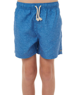 BRIGHT BLUE KIDS BOYS RIP CURL BOARDSHORTS - KBOMT14286