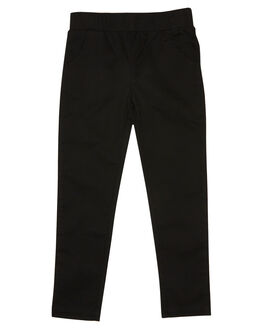 BLACK KIDS BOYS LITTLE LORDS PANTS - AW19320BLK