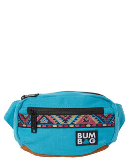 TEAL MENS ACCESSORIES THE BUMBAG CO BAGS + BACKPACKS - MB001TEA