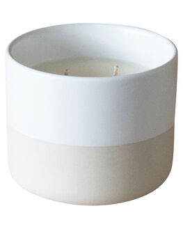 SANDLEWOOD VANILLA BEAN WOMENS ACCESSORIES THE CANDLE LIBRARY HOME + BODY - CLC13WHT