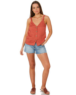 BERRY WOMENS CLOTHING RHYTHM FASHION TOPS - OCT19W-WT04BER