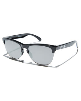 POLISHED BLACK PRIZM MENS ACCESSORIES OAKLEY SUNGLASSES - 0OO9374-1063