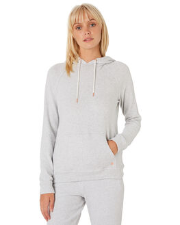 LIGHT GREY WOMENS CLOTHING VOLCOM JUMPERS - B3111801LGR