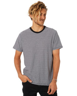 BLACK MENS CLOTHING BILLABONG TEES - 9582005BLK