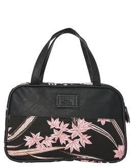BLACK WOMENS ACCESSORIES RUSTY BAGS + BACKPACKS - TRL0247BLK