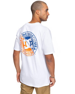 SNOW WHITE MENS CLOTHING DC SHOES TEES - UDYZT03666-WBB0