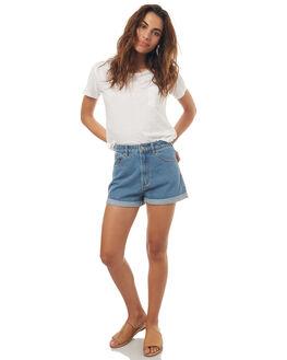 LA BLUES WOMENS CLOTHING A.BRAND SHORTS - 70159-396LAB