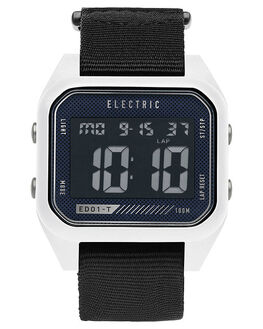 WHITE BLACK MENS ACCESSORIES ELECTRIC WATCHES - EW0110020051