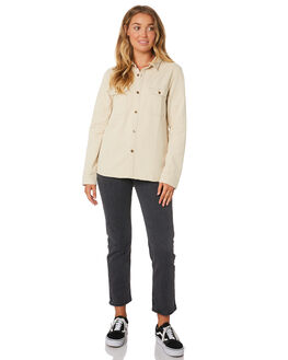 DIRTY WHITE WOMENS CLOTHING THRILLS FASHION TOPS - WTDP-216ADWHT