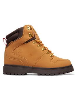 WHEAT DARK CHOCOLATE BOARDSPORTS SNOW DC SHOES BOOTS + FOOTWEAR - ADYB700022WD4