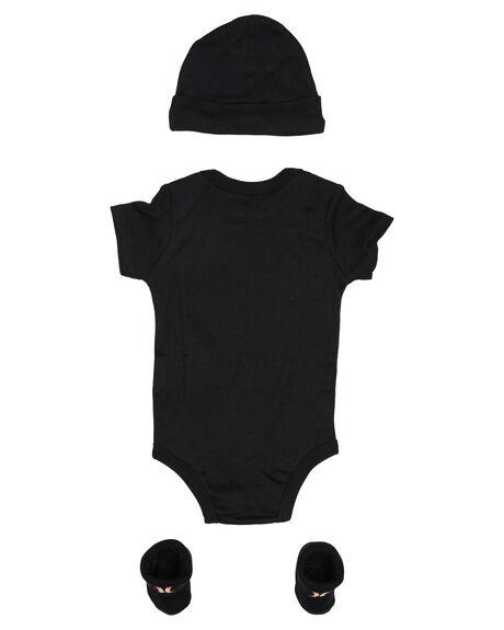 BLACK MULTI KIDS BABY HURLEY CLOTHING - HHRLH0001K5T