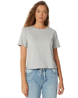 GREY MARLE WOMENS CLOTHING ELEMENT TEES - 274014GRY