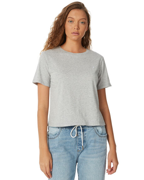 GREY MARLE OUTLET WOMENS ELEMENT TEES - 274014GRY