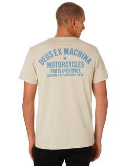 SAFARI MARLE MENS CLOTHING DEUS EX MACHINA TEES - DMS81697CSAFRI