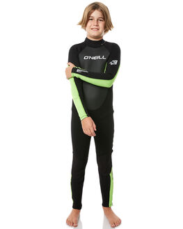 BLACK DAY GLOW BLACK SURF WETSUITS O'NEILL STEAMERS - 3802OASG8