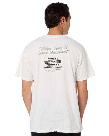 DIRTY WHITE OUTLET MENS THRILLS TEES - SMU20-149ADWT