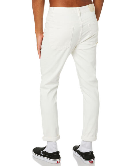 WHITE MENS CLOTHING INSIGHT JEANS - 1000081490WHT