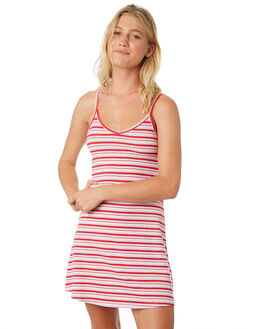 RED PINK BLUE WOMENS CLOTHING ALL ABOUT EVE DRESSES - 6426022PRT2