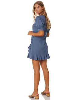 LAKEHOUSE BLUE WOMENS CLOTHING MLM LABEL DRESSES - MLM679DBLUE