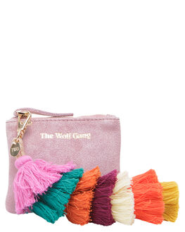 BLUSH WOMENS ACCESSORIES THE WOLF GANG PURSES + WALLETS - TWGINC002BLSH