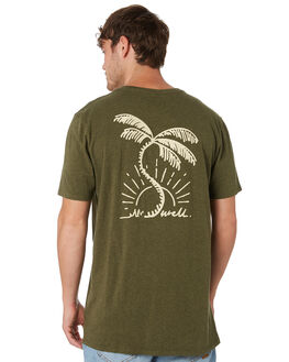 OLIVE MARLE MENS CLOTHING SWELL TEES - S52011016OLVMA