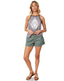 FERN WOMENS CLOTHING VOLCOM SHORTS - B0931775FRN