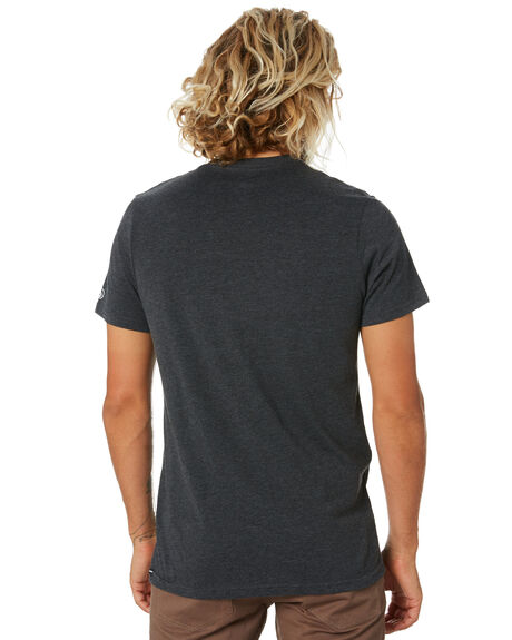 CHARCOAL HEATHER MENS CLOTHING VOLCOM TEES - A5032074CHH