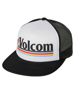 WHITE WOMENS ACCESSORIES VOLCOM HEADWEAR - E5531902WHT