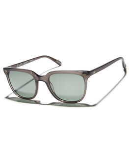 MATTE GREY CRSYTAL MENS ACCESSORIES RAEN SUNGLASSES - ARL-M205-ZPGRNMGRY