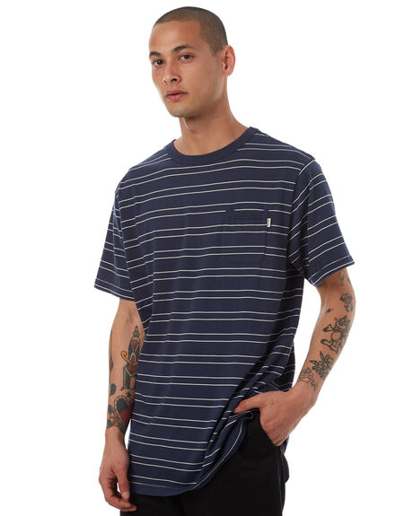 NAVY MENS CLOTHING RIP CURL TEES - CTEDC20049