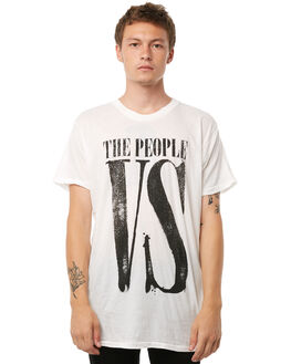 OFF WHITE MENS CLOTHING THE PEOPLE VS TEES - AW18061OWHT