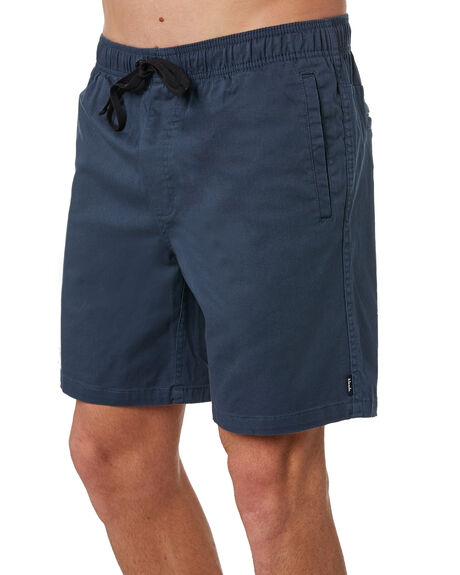 DEEP NAVY MENS CLOTHING AFENDS SHORTS - M183361DNAVY