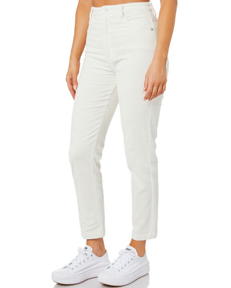 MARSHMALLOW CORD WOMENS CLOTHING ABRAND JEANS - 72443-5356