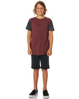 BURGUNDY KIDS BOYS ST GOLIATH TOPS - 2421003BURG
