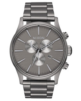 ALL GUNMETAL GREY MENS ACCESSORIES NIXON WATCHES - A3862090