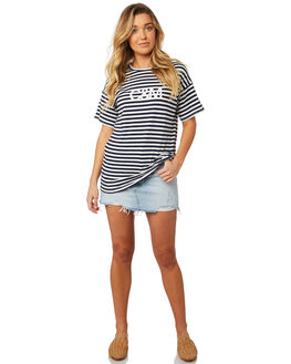 STRIPE WOMENS CLOTHING C&M CAMILLA AND MARC TEES - SCMT6890STR