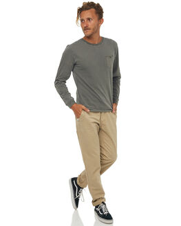 OLIVE MENS CLOTHING RHYTHM TEES - JAN18M-CT10OLI