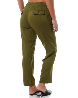 OLIVE WOMENS CLOTHING SWELL PANTS - S8182195OLIVE
