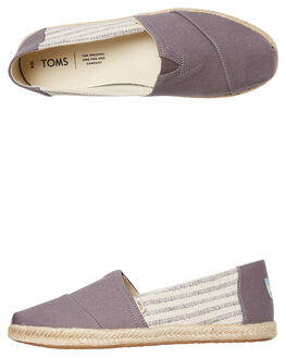 DRIZZLE GREY WOMENS FOOTWEAR TOMS SLIP ONS - 10013496DGRY