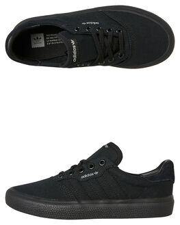 BLACK BLACK KIDS BOYS ADIDAS SNEAKERS - F33864BKBK