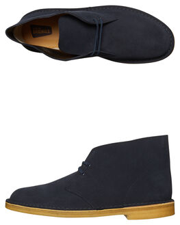 MIDNIGHT NAVY MENS FOOTWEAR CLARKS ORIGINALS BOOTS - SS26122562MIDNIM