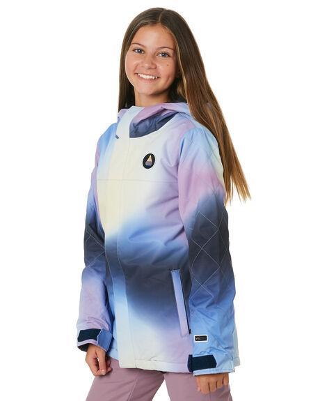 AURORA PRINT BOARDSPORTS SNOW VOLCOM GIRLS - I0452007WHT