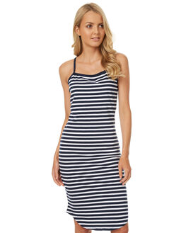 STRIPE WOMENS CLOTHING SWELL DRESSES - S8174443STR