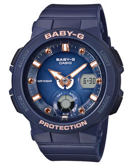 NAVY WOMENS ACCESSORIES BABY G WATCHES - BGA250-2A2NVY