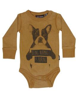 KHAKI KIDS BABY ROCK YOUR BABY CLOTHING - BBB1812-NIKHAK